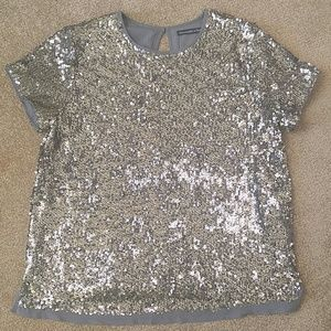 Abercrombie & Fitch Sequin Top